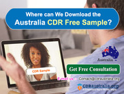 Where can We Download the Australia CDR Free Sample?