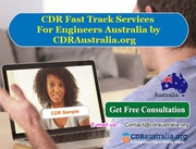 CDR Fast Track Services for Engineers Australia by CDRAustralia.org