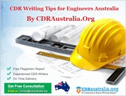CDR Writing Tips for Engineers Australia By CDRAustralia.Org