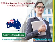 RPL for Systems Analyst Australia by CDRAustralia.org